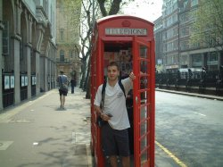 This phone booth can be used as a time machine