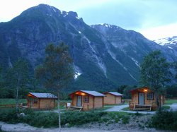 Our camp in Andalsnes