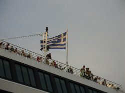 The ferry to Corfu
