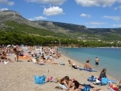 Zlatni Rat from Beach Bum-Eye View