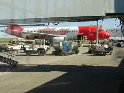 The plane to Toronto