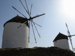 Old windmills encountered on our Quixotical adventure