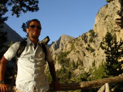 Entering Samaria gorge