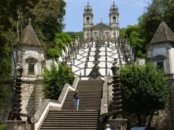 Only some of the many many steps of Bom Jesus