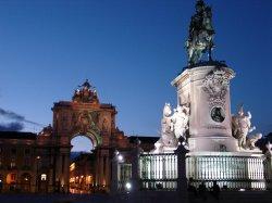 Leaving Portugal, the main square