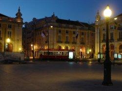 Arriving in Lisbon after dark was fun