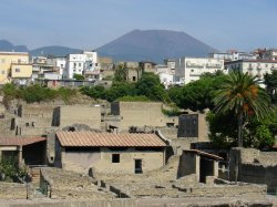 Herculaneum and Mt Vesuvius