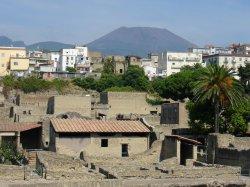 Herculaneum and Mt Vesuvius