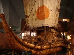 Kontiki Raft that sailed across the Atlantic
