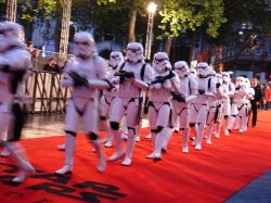 Storming the red carpet