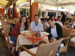 Eleni, Nikos, and I