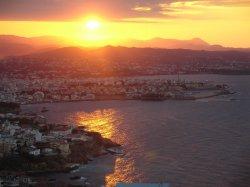 Sunset on Hania