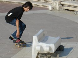 Future skateboard god