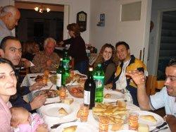 The dinner before Dean left