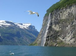 The fjord cruise was simply beautiful
