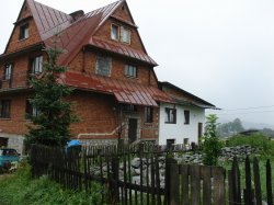 Where I stayed in Zakopane