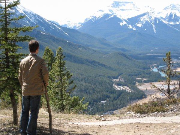 Overlooking Banff