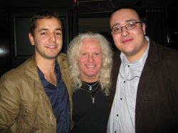 Dean and Brian with Billy Block
