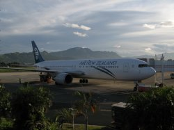 My Air NZ Flight